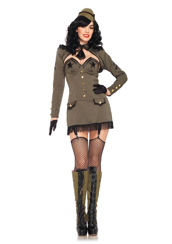 Военный костюм для девочки своими руками