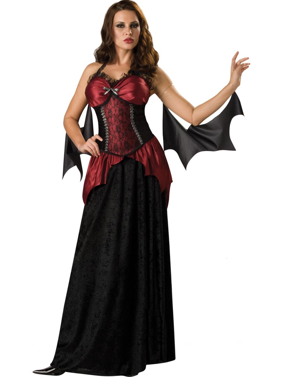 Костюм вампира на хэллоуин своими руками для девушек