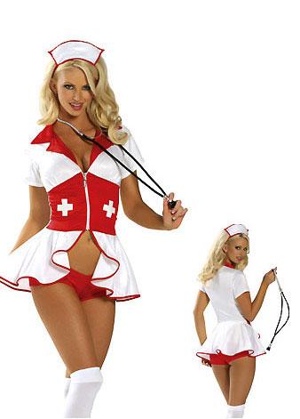 эротическая фотосессия в костюме медсестры