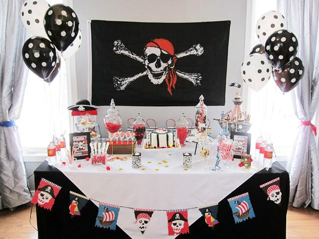Пиратская вечеринка украшение зала своими руками 95